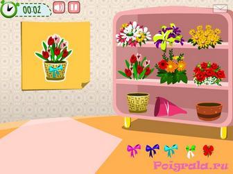 Картинка к игре Игра для девочек Даша и цветы
