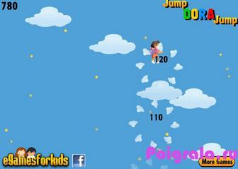 Картинка к игре Даша путешественница: прыжки по облакам
