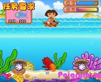 Картинка к игре Даша ловит рыбу 2