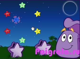Картинка к игре Даша ловит звезды