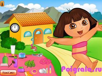 Картинка к игре Игра для девочек макияж Даши