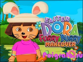 Даша макияж кролика картинка 1
