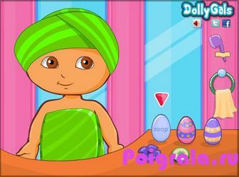 Картинка к игре Даша макияж кролика