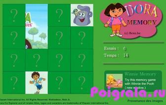 Картинка к игре Dora memory