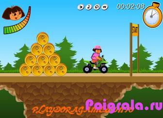 Картинка к игре Даша гонки на квадроцикле