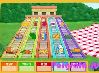Картинка к игре Даша на пикнике