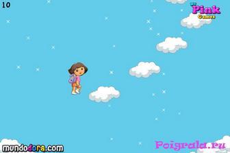 Картинка к игре Даша прыгает по облакам