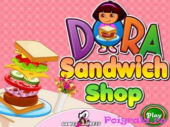 Даша мастер сендвичей картинка 1