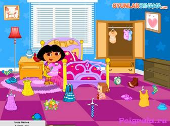 Картинка к игре Даша уборка комнаты
