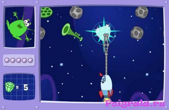 Картинка к игре Даша: космическая атака
