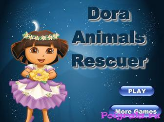 Даша спасает животных картинка 1
