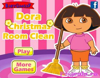 Даша, уборка после Рождества картинка 1