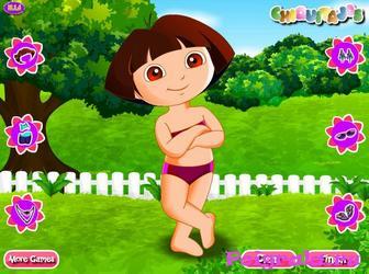 Картинка к игре Даша в летний день