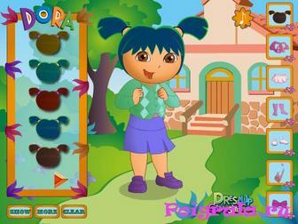 Игра Даша путешественница в школе
