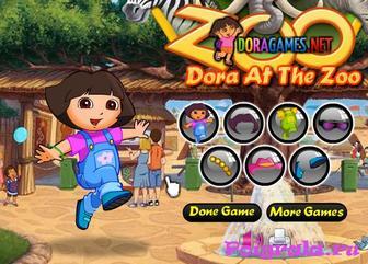 Картинка к игре Даша в зоопарке