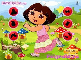 Картинка к игре Даша в грибном саду