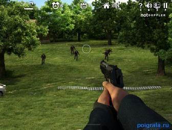 Картинка к игре Стреляй по зомби