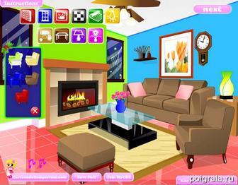 Картинка к игре Украшаем комнату к новому году