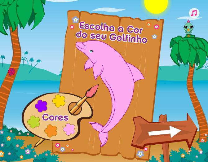 Игра Выступает дельфин 6