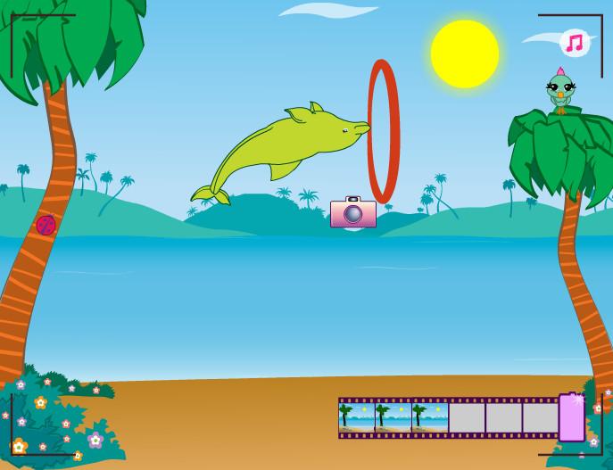 Картинка к игре Выступает дельфин 6