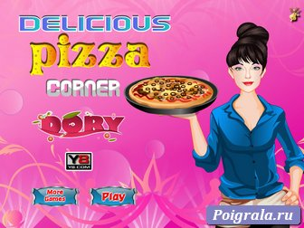 Готовим пиццу с Дорой картинка 1