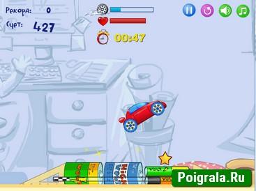 Картинка к игре Гонки на рабочем столе