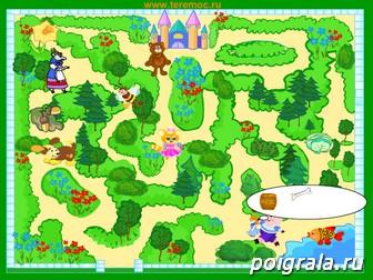 Картинка к игре Детский лабиринт