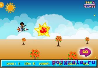 Картинка к игре Диего воздушный бой