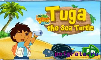 Игра Диего вперед, морские черепахи