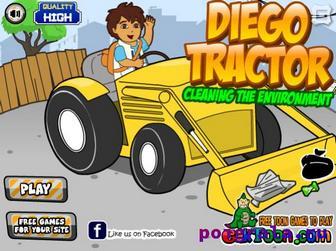 Игра Диего на тракторе
