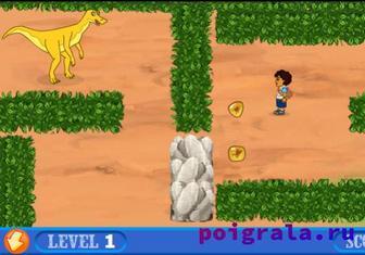 Игра Диего спасает динозавров