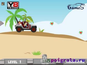 Картинка к игре Даша и Диего, приключение на острове