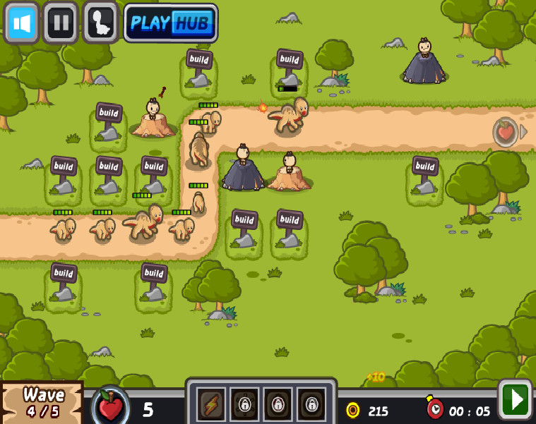 Картинка к игре Нападение динозавров