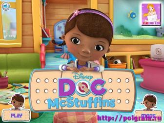 Игра Доктор Плюшева лечит куклы