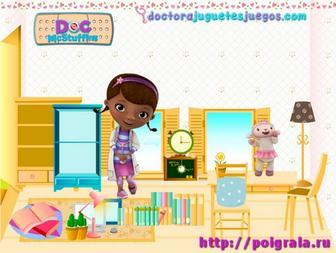 Игра Дотти Плюшева, дизайн комнаты