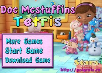 Игра Тетрис с доктором Плющевой