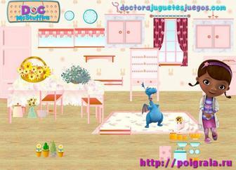 Картинка к игре Дизайн комнаты доктора Плюшевой