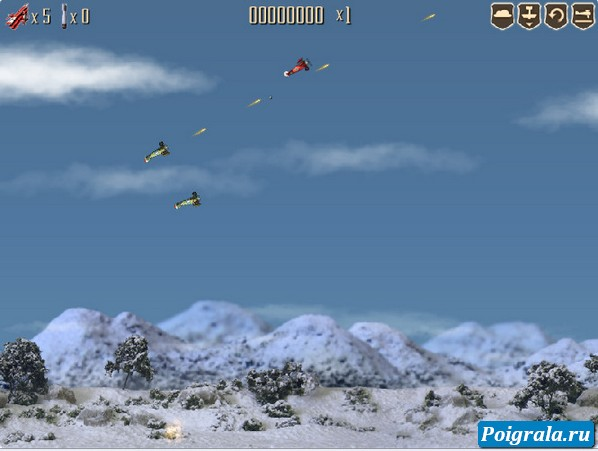 Картинка к игре Битва самолетов