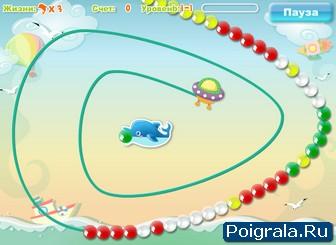 Картинка к игре Зума дельфин