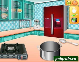 Картинка к игре Сара готовит домашнее мороженое