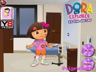Игра Даша у доктора