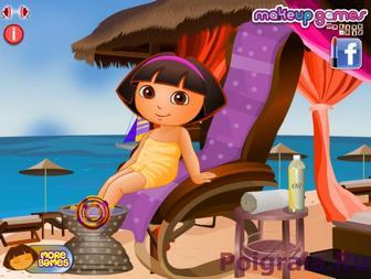 Картинка к игре Даша в спа салоне