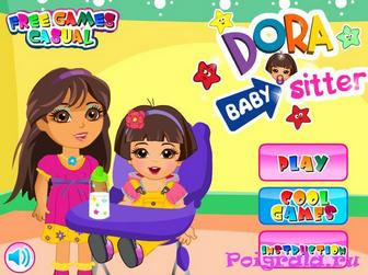 Игра Маленькая сестра Даши