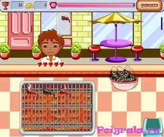 Картинка к игре Даша в магазине барбекю