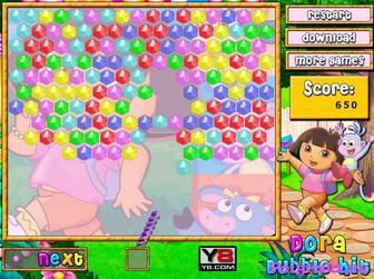 Картинка к игре Даша, разбей шарики
