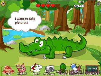 Даша и крокодильчик картинка 1