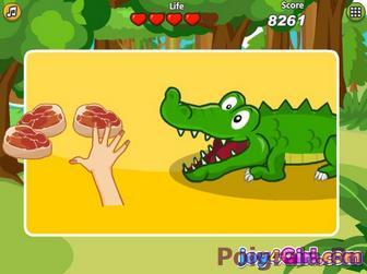 Картинка к игре Даша и крокодильчик