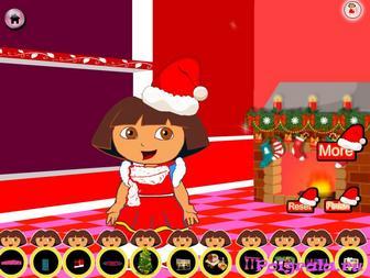 Картинка к игре Даша путешественница и Рождество