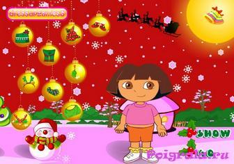 Картинка к игре Даша рождественская одевалка