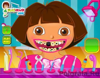 Картинка к игре Даша у стоматолога